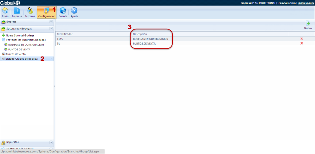 verificar creacion de productos